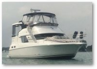 1999 Silverton 392 Motoryacht  /Detroit Michigan