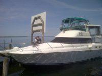 1993 Silverton 34 Motor Yacht - Life's a Cabernet